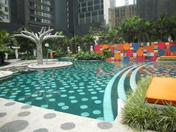 W酒店泳池水处理